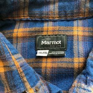 Marmot Shirts - Marmot Flannel